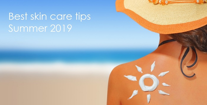 Best skin care tips for the summer